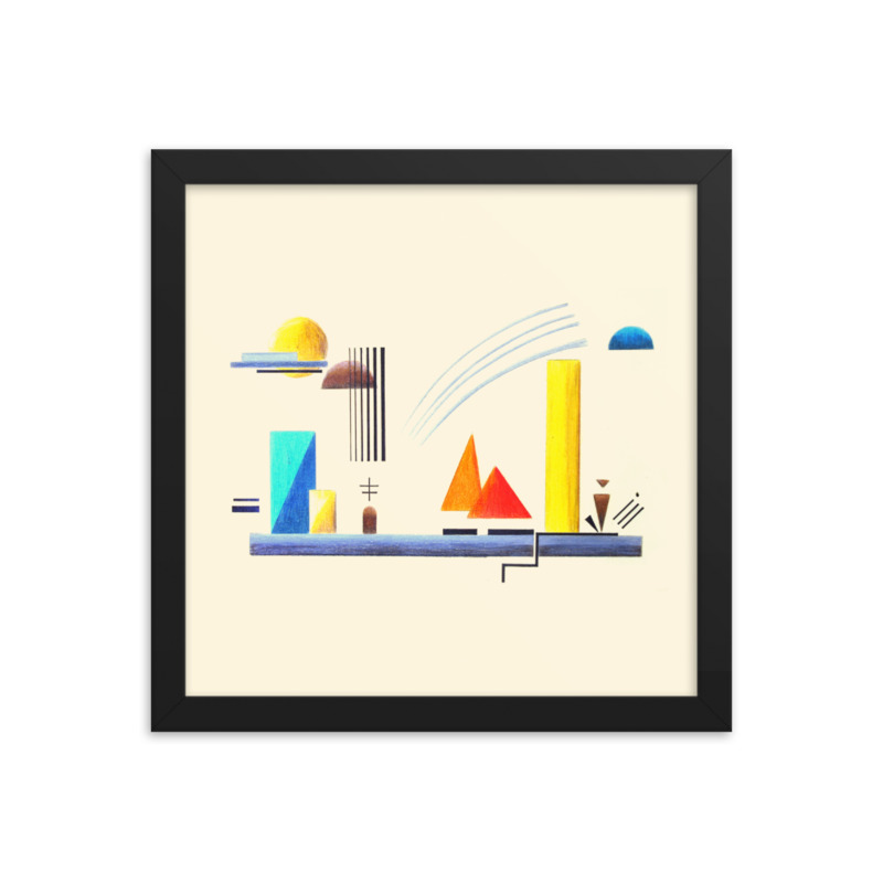 Harmony of the Spheres (Dawn) – contemporary art print