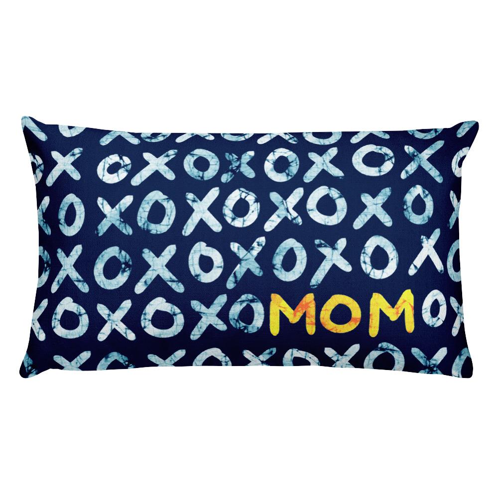 XOXO Mom – Lumbar Throw Pillow