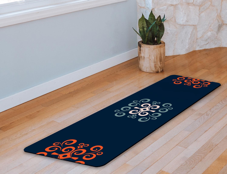 Yoga Mat – Strength & Humility