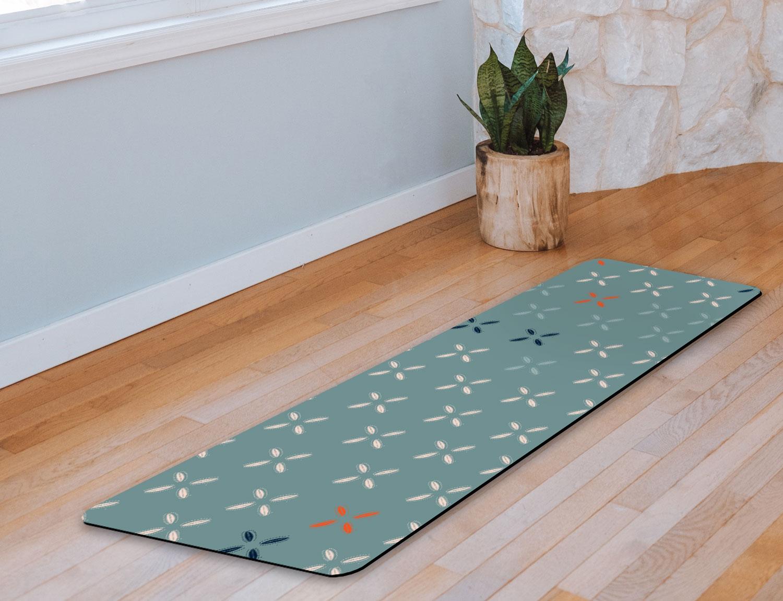 Cowrie Yoga Mat in Seafoam