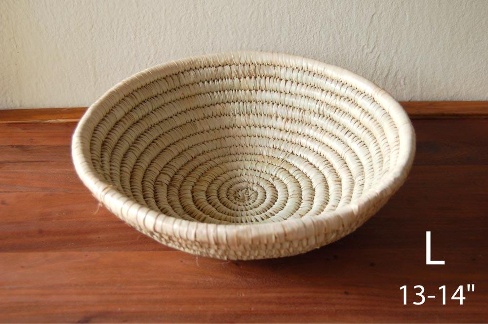 Large Basket Bowl (13-14in)