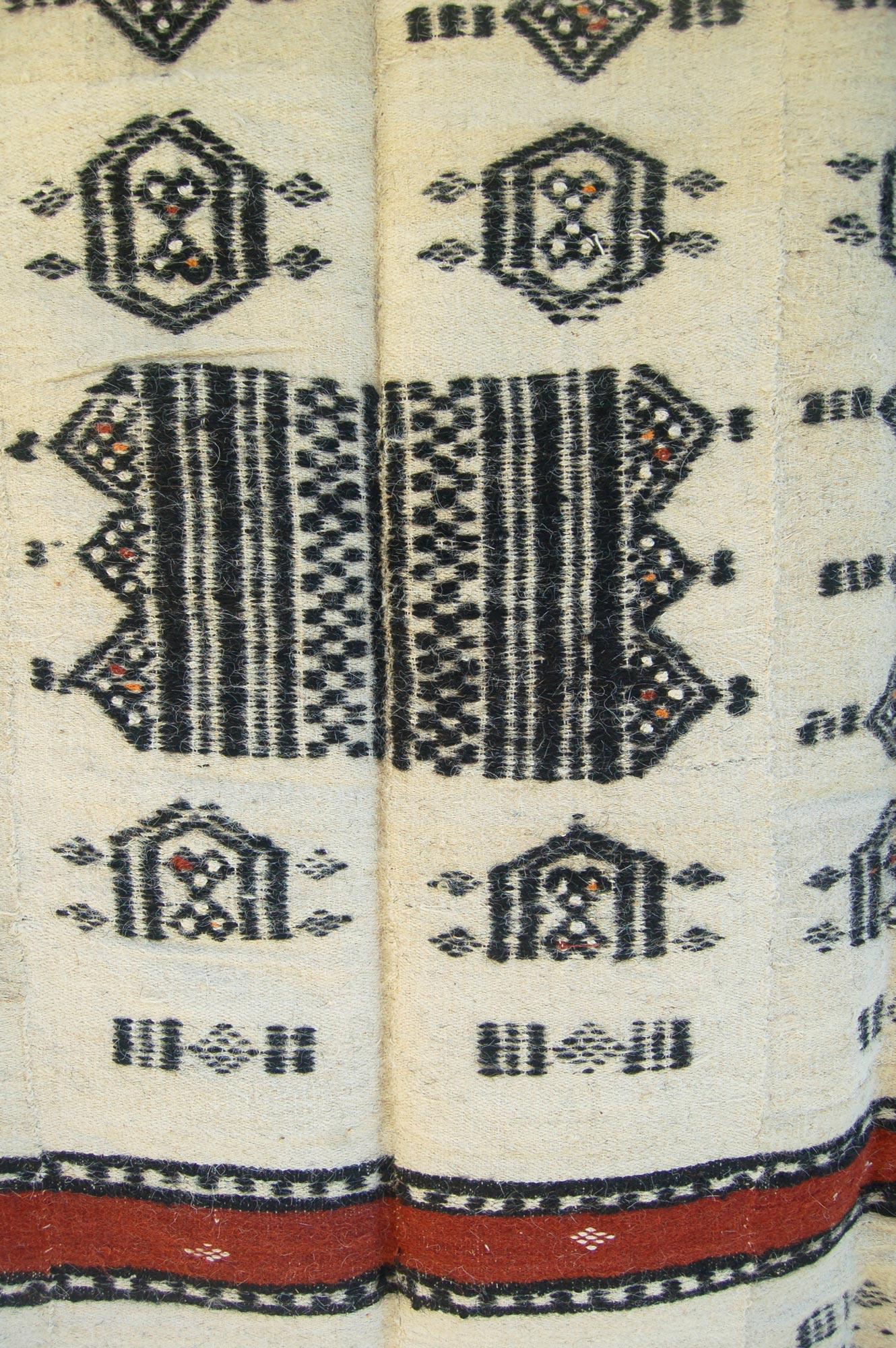 African Camel Hair Wool Blanket