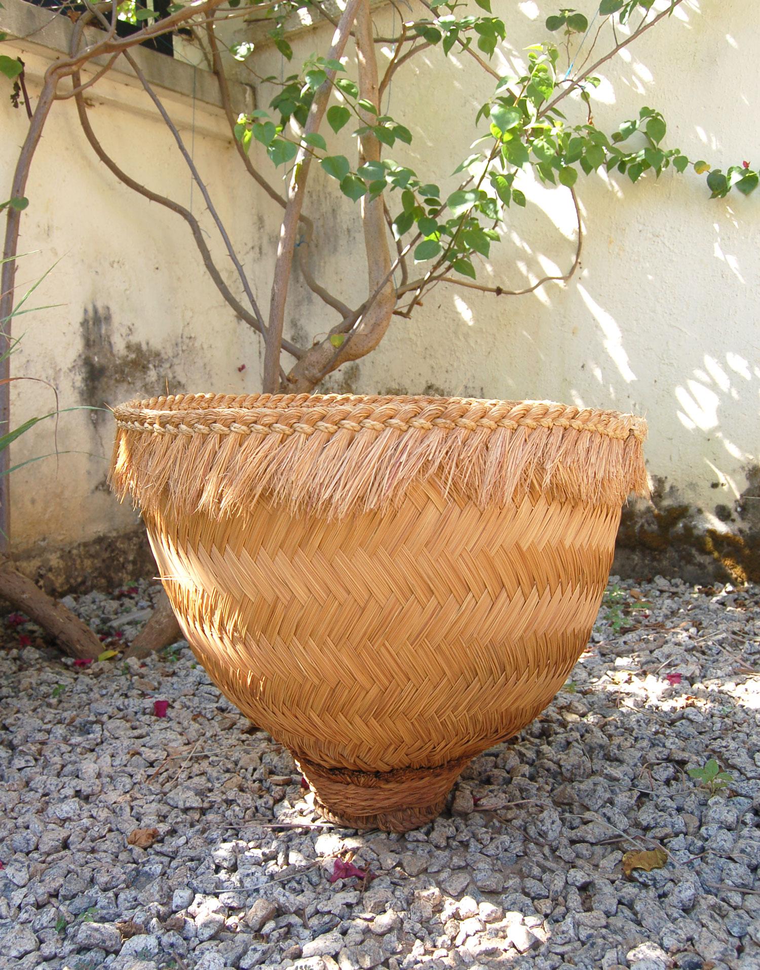 Large Vintage Adamawa Basket