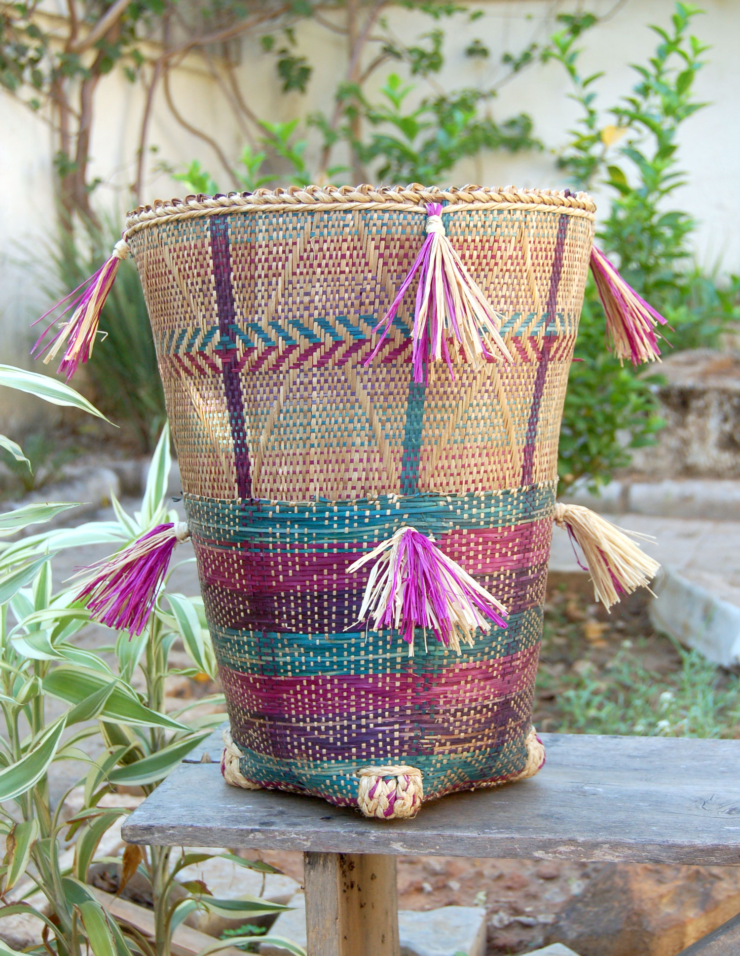 Set of Two Mambilla Baskets (Tea-Harvester Baskets)