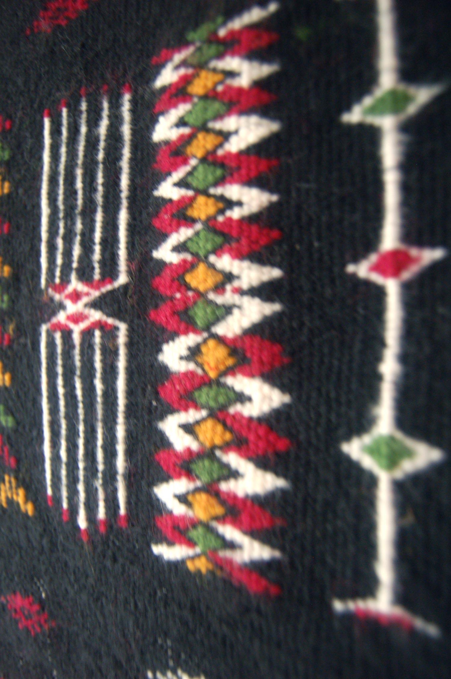 Rare Vintage Tuareg Kilim
