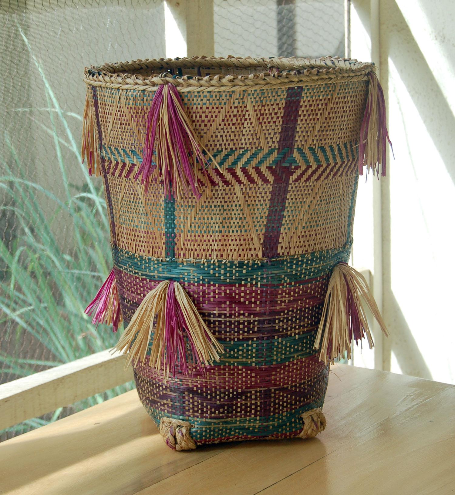 Deep Planter Baskets (Tea Harvester Baskets) – Set of 2