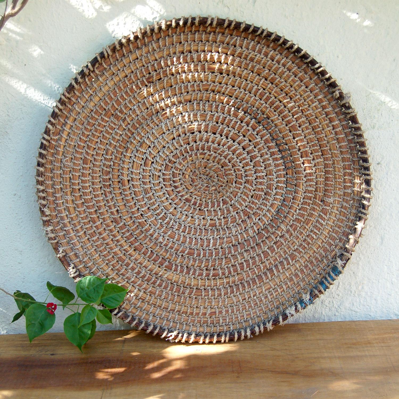 Vintage Rustic Basket Set – California country kitchen (3 piece set)