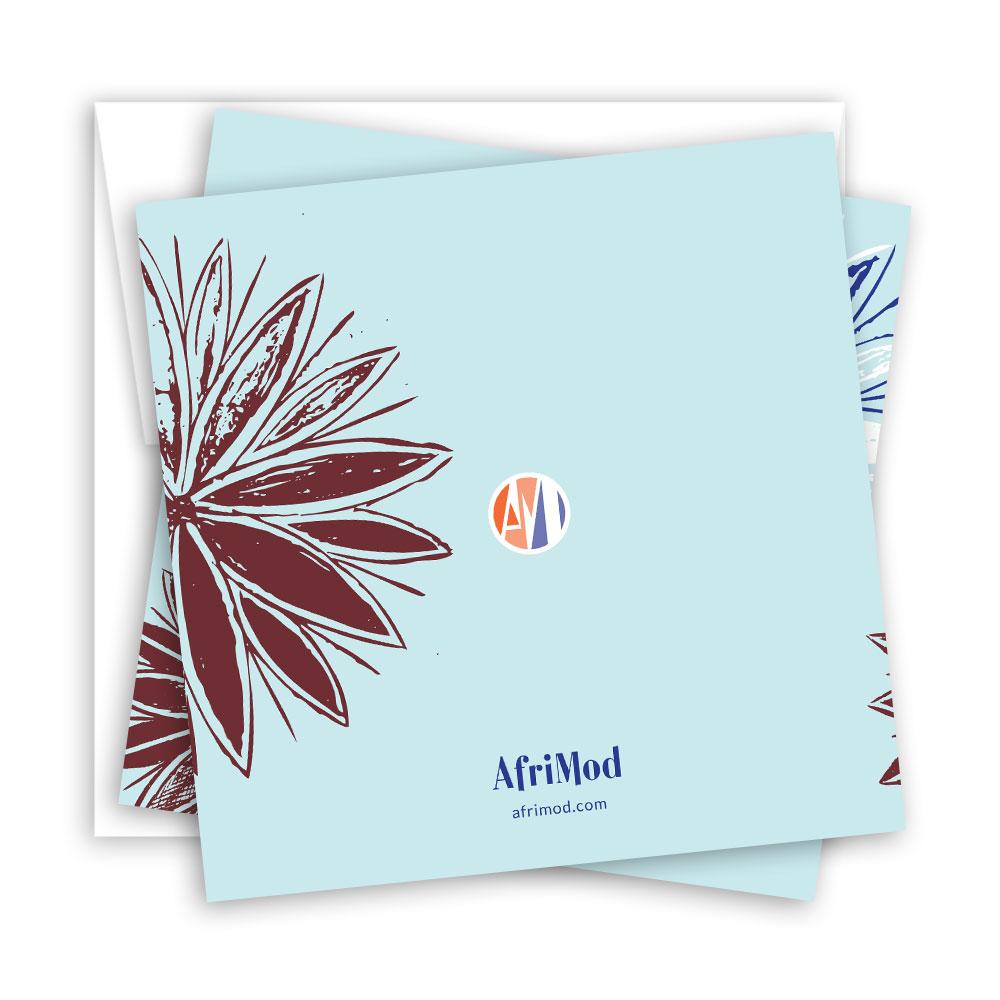 Flora – Blank Notecard