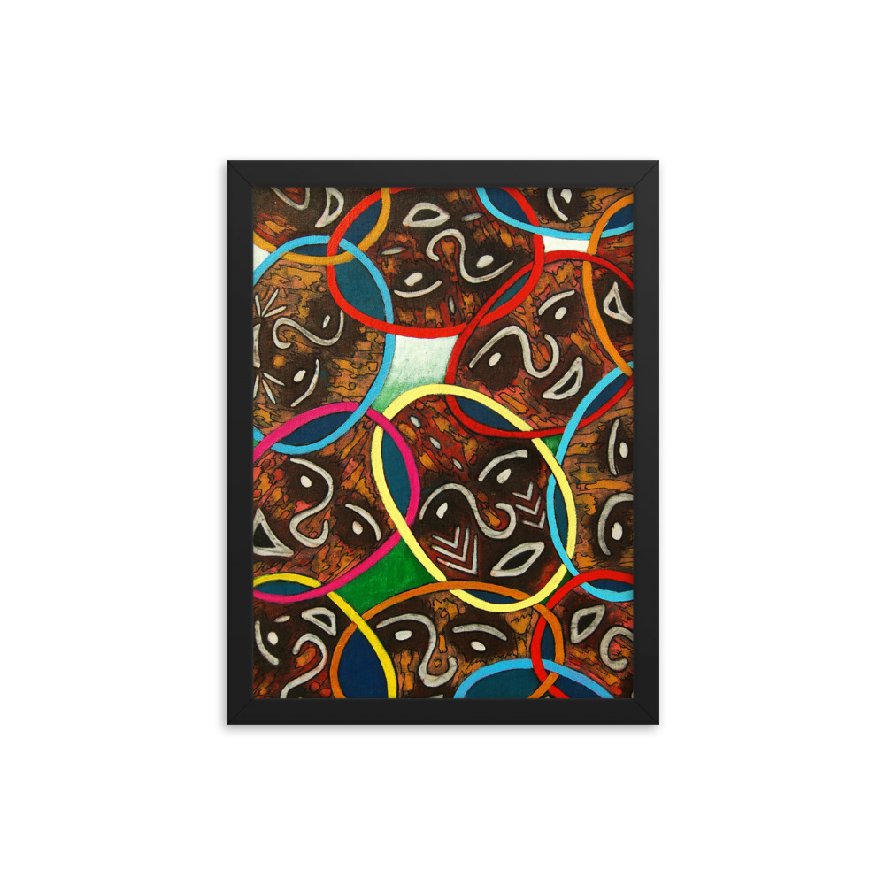 Unity in Diversity – unframed / framed / canvas print