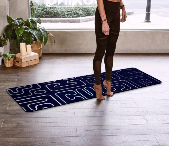 Blue Kuba Yoga Mat