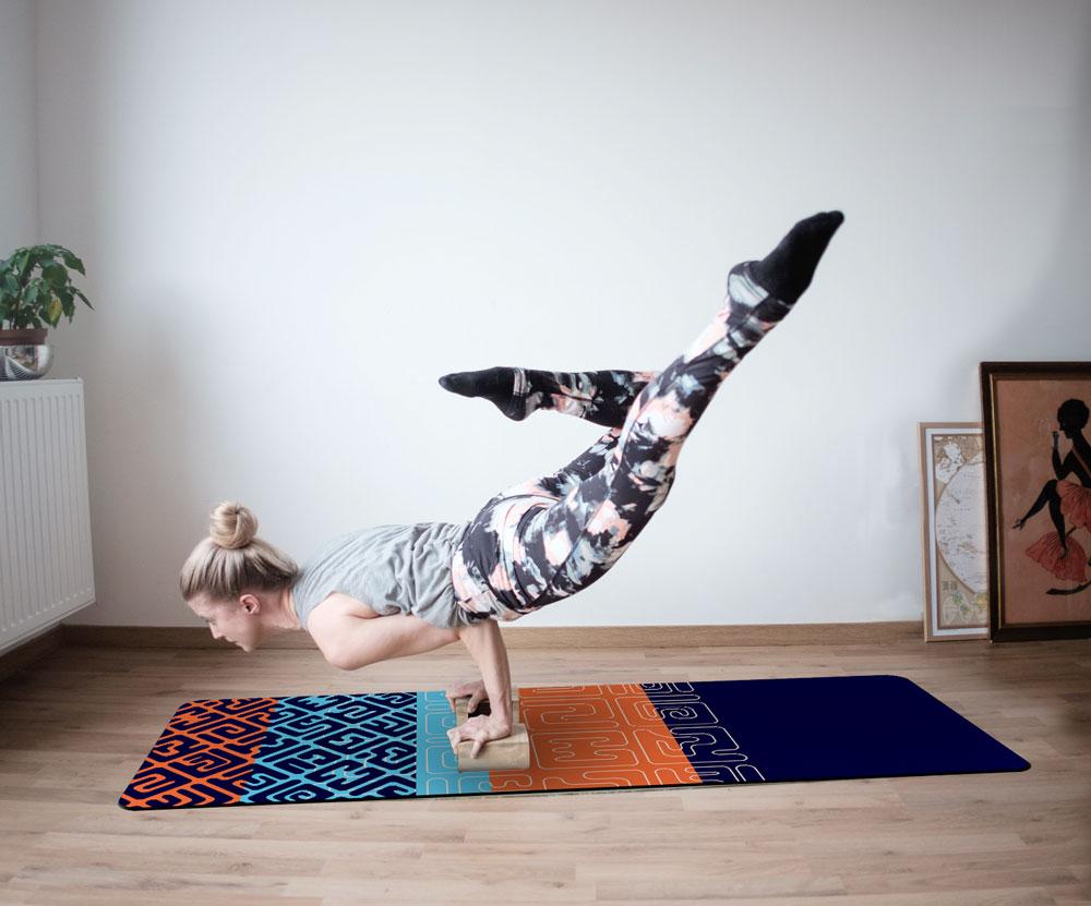 Yoga Mat – Kuba Tapestry #1