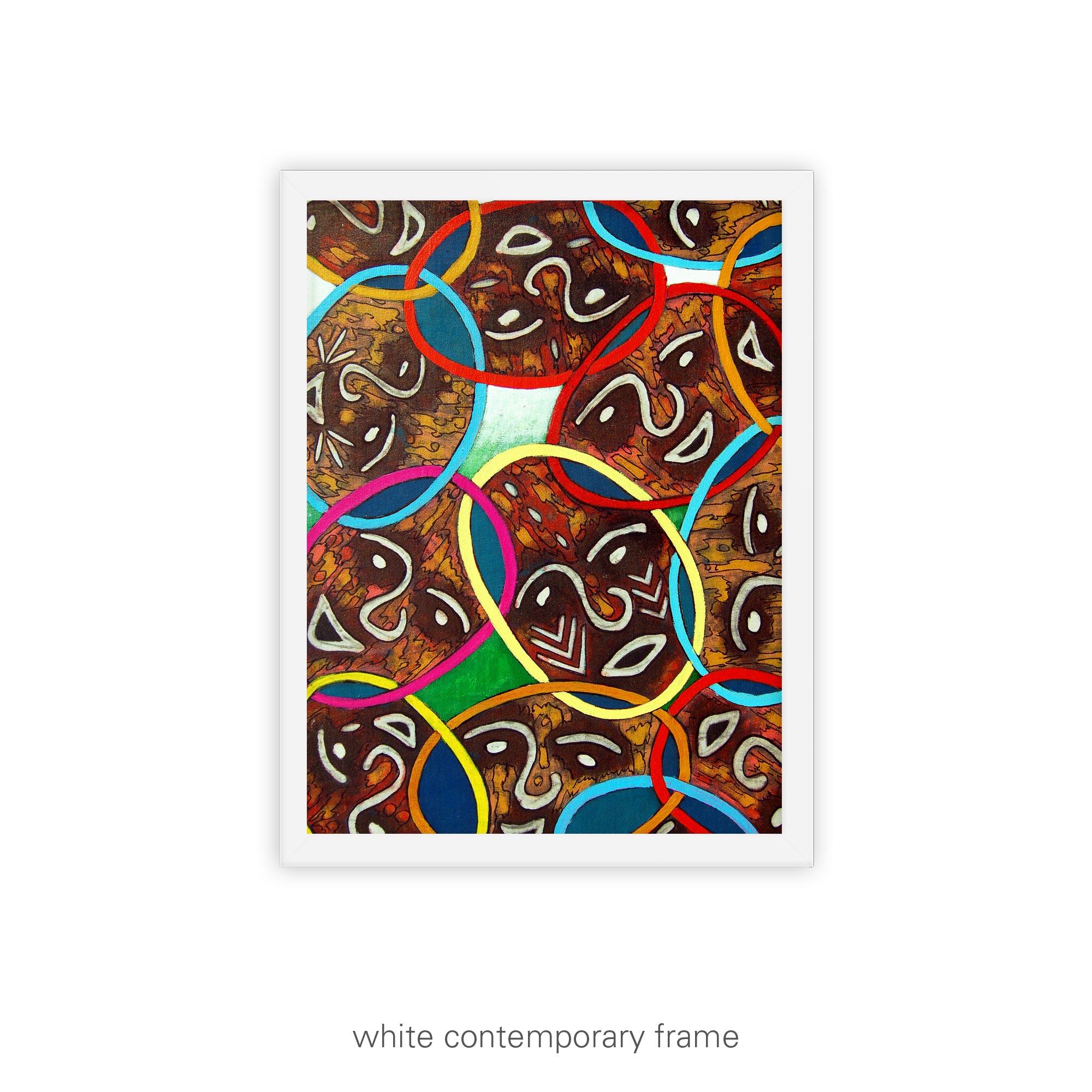 Unity in Diversity – unframed / framed / canvas print
