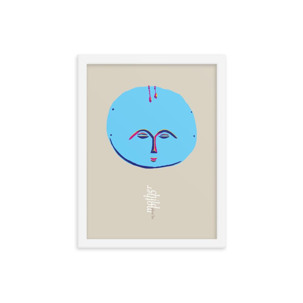 Akua'ba: Mother & Child – unframed / framed / canvas print