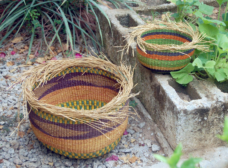 AfriMod Bird's Nest Planter Basket Set #1