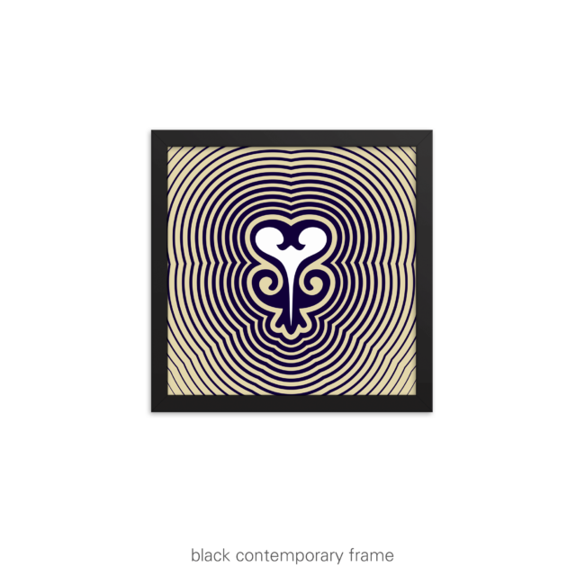 Sankofa Graphic Print – Ripples in Time