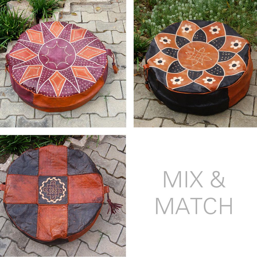Mix & Match Pouf Set