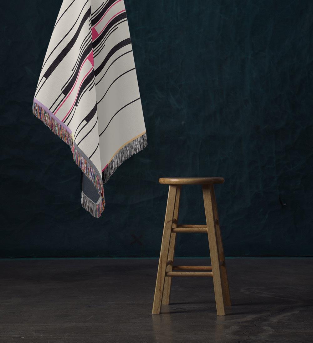 Fula III – inspired by Fulani Wedding Blankets