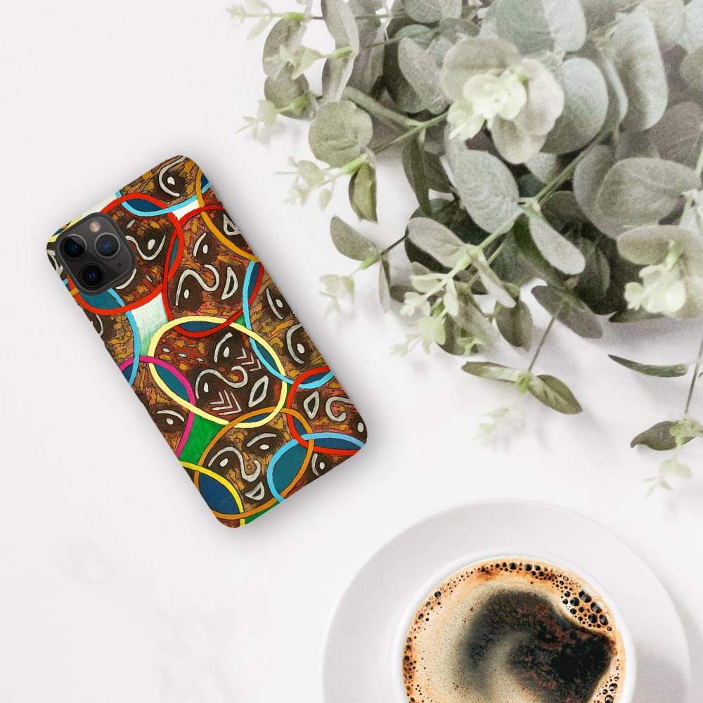 Funky Faces iPhone Case