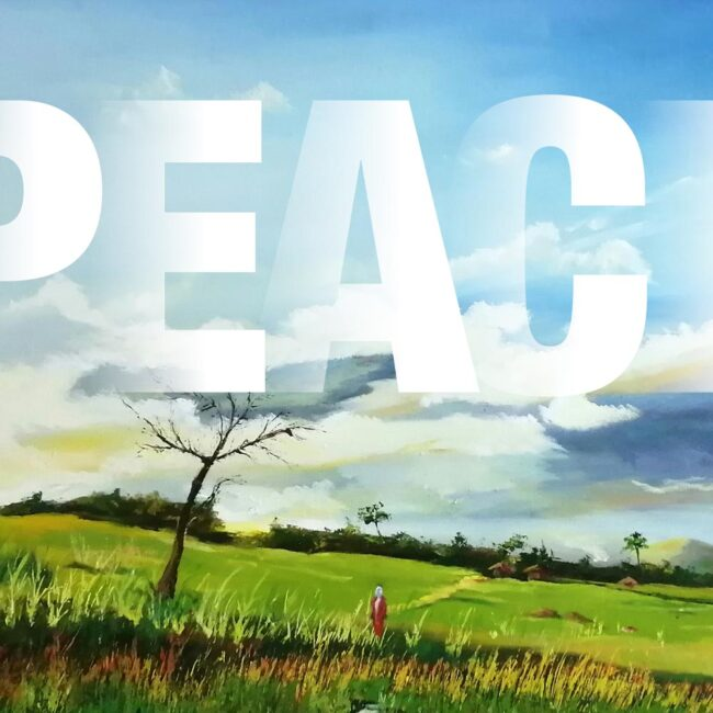 Peace – set of 10 blank cards