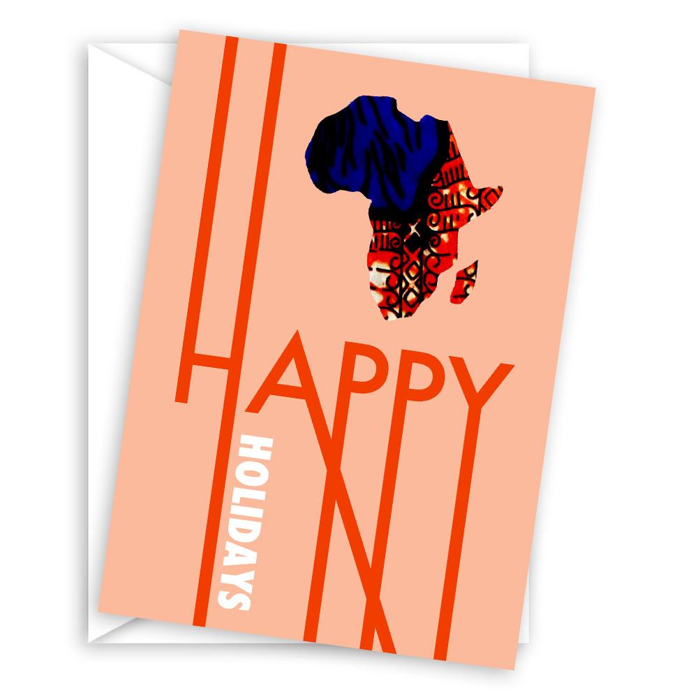 Happy Holidays – blank holiday card