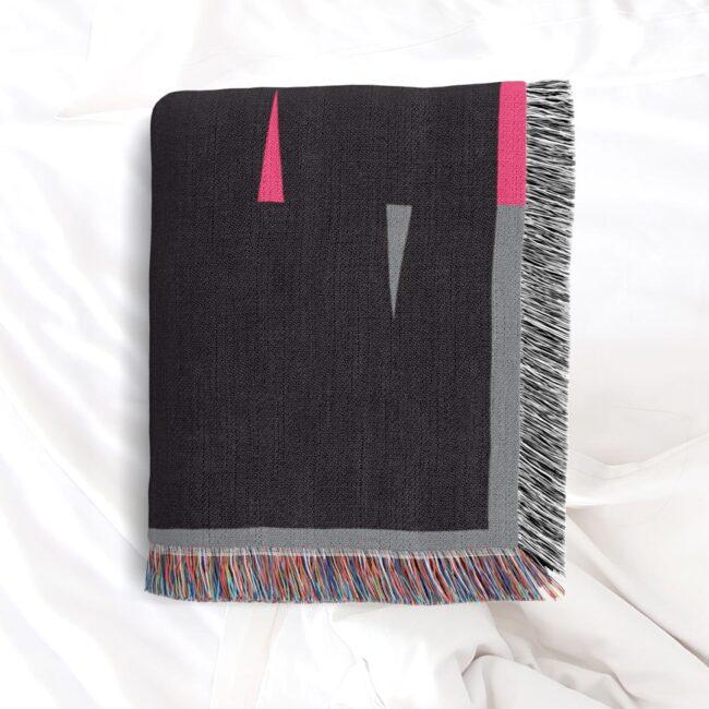 Fula V (dusk) – inspired by Fulani Wedding Blankets