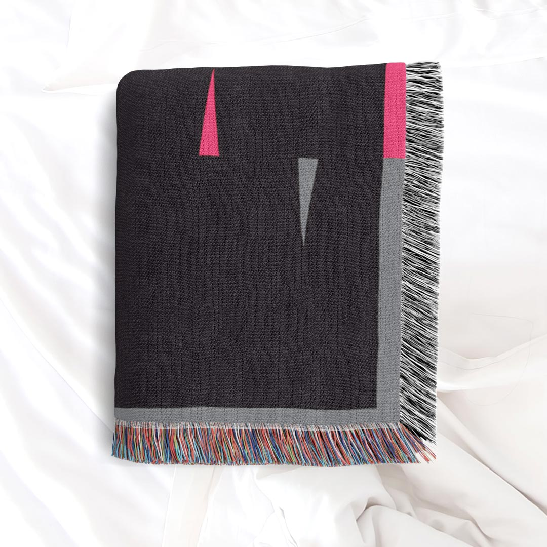 Fula V (dusk) – inspired by Fulani Wedding Blankets