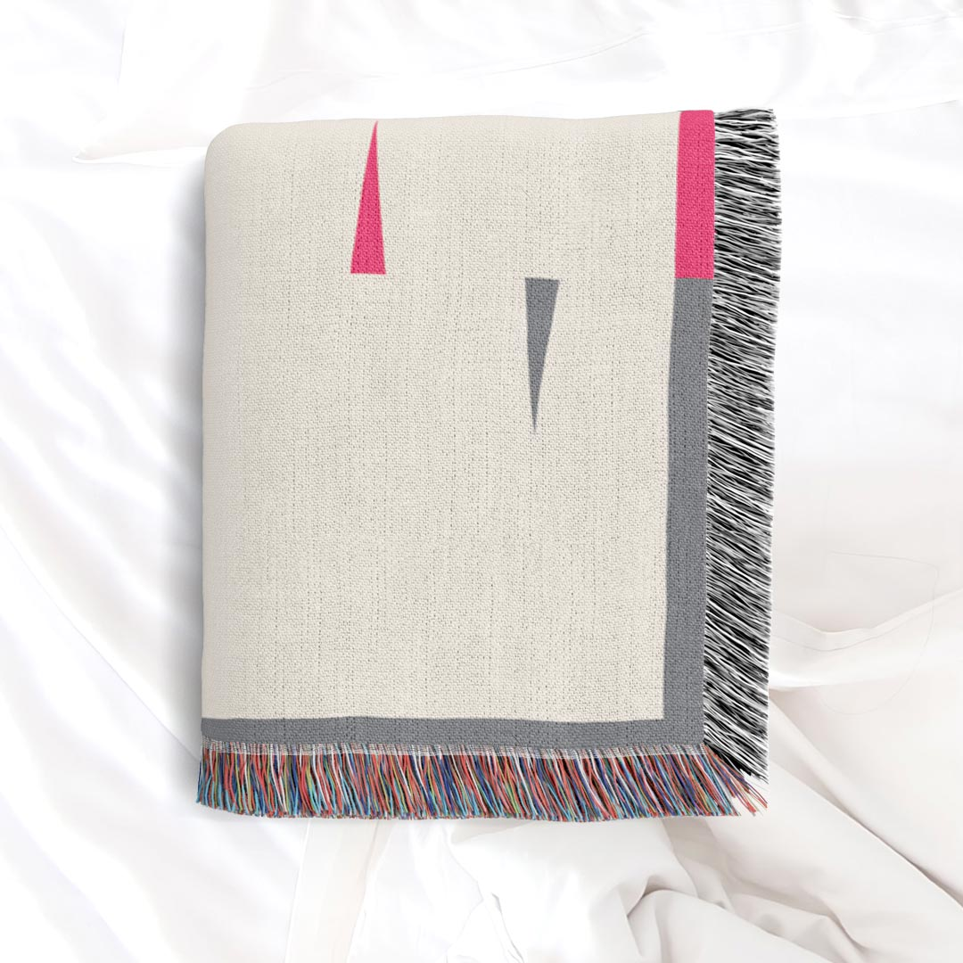 Fula V (dawn) – inspired by Fulani Wedding Blankets