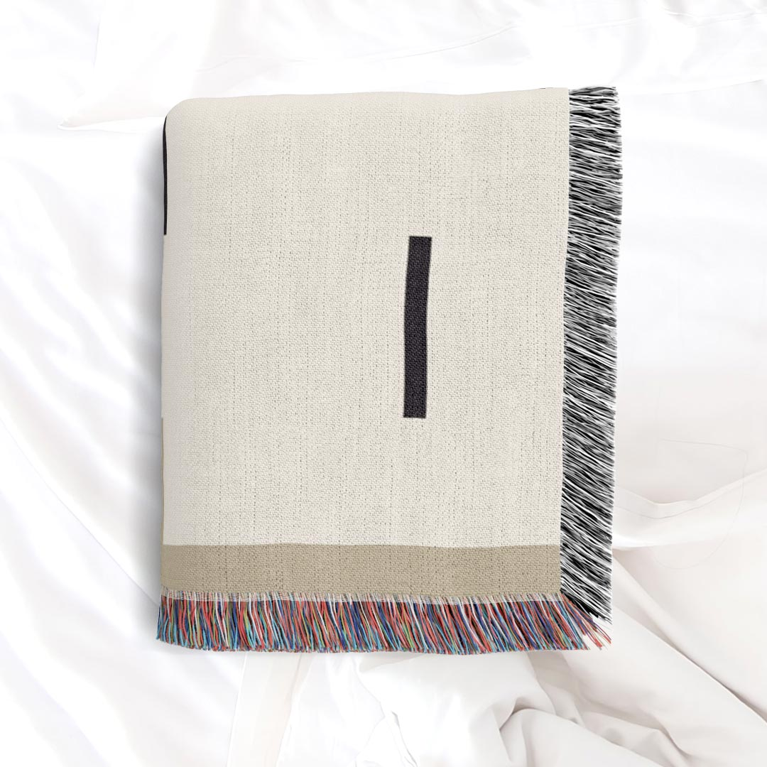 Fula IV (dunes) – inspired by Fulani Wedding Blankets