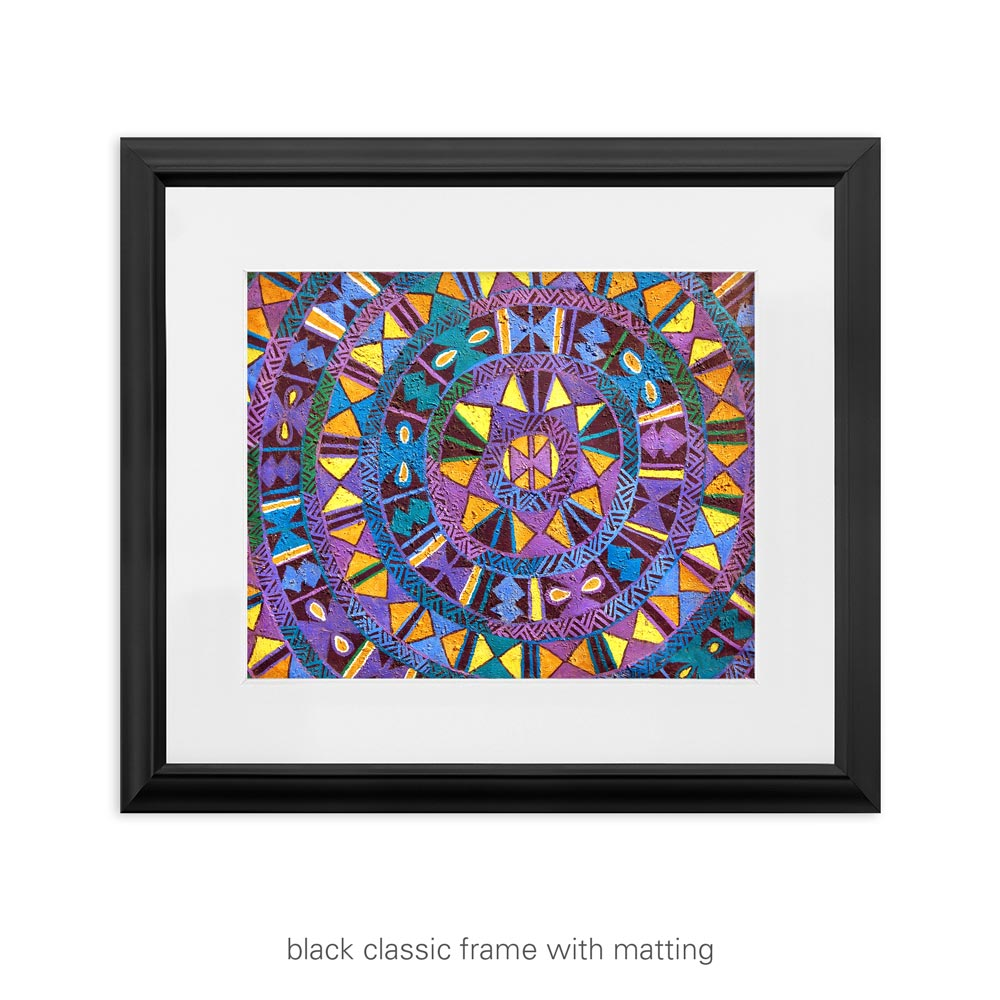 Abstract African Art Print