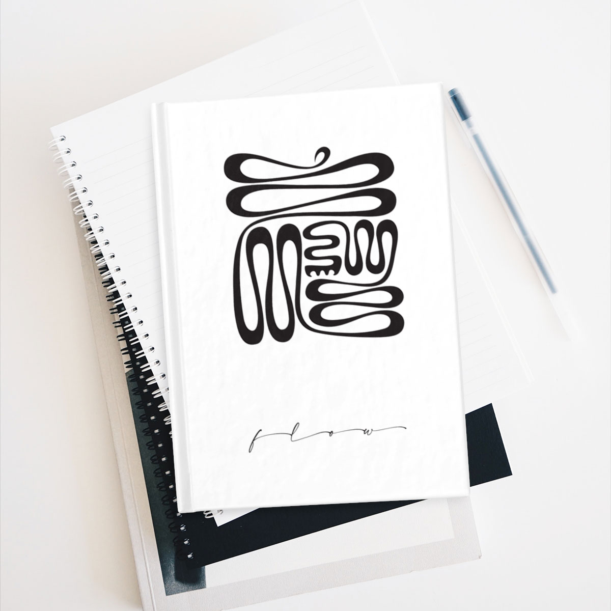 Creative Flow – blank or lined notebook