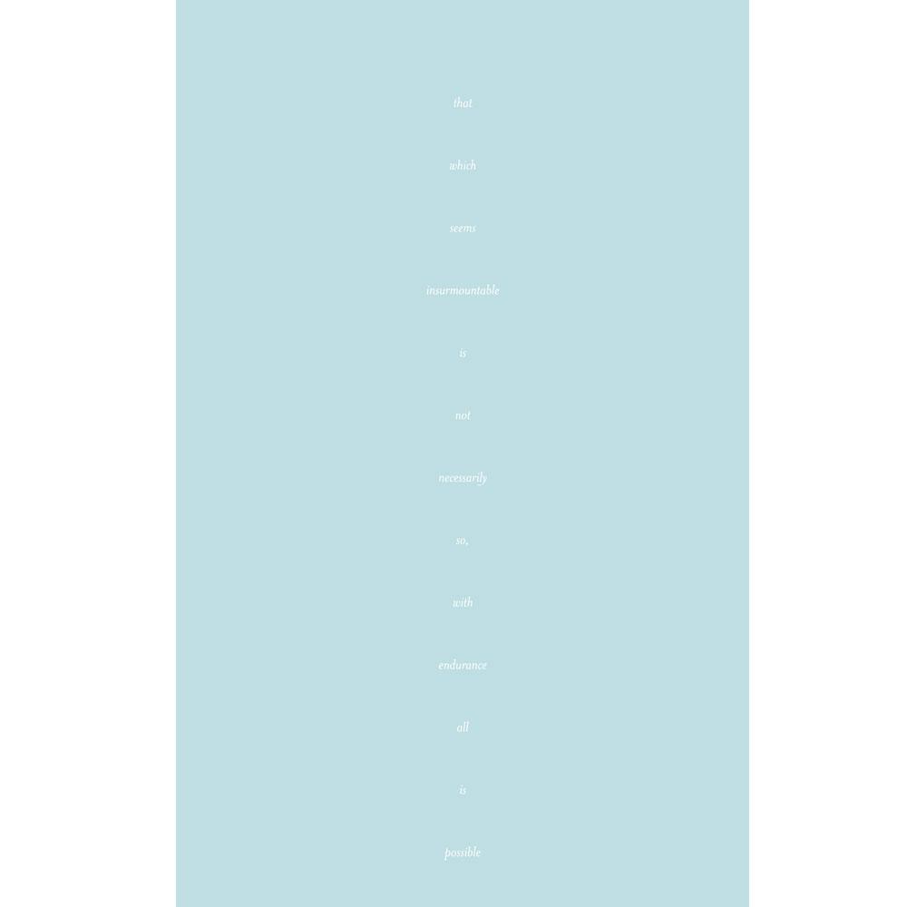 Endurance of Spirit – Haint Blue Adinkra Yoga Mat