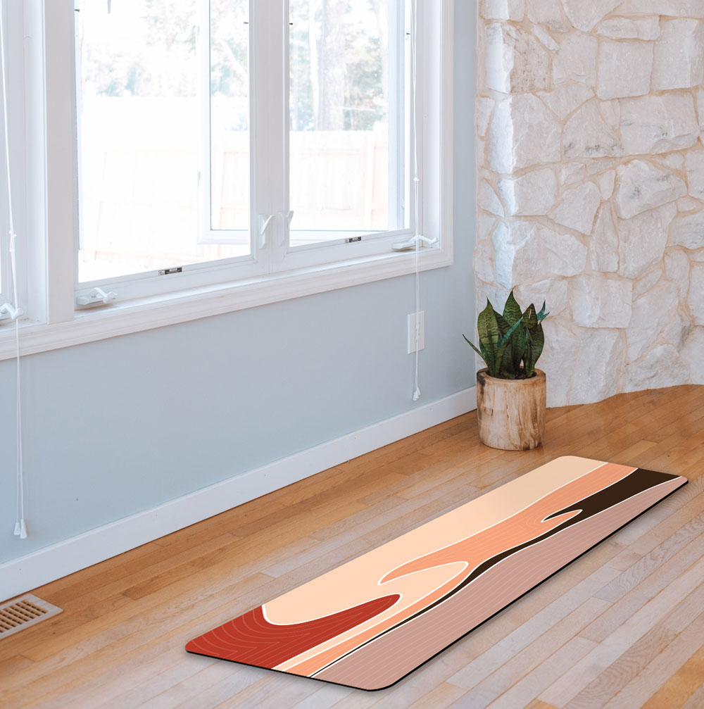 Sand Flow – Earthtone Yoga Mat