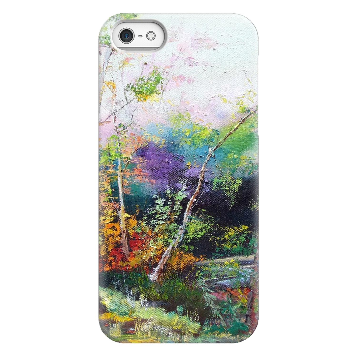 Artsy iPhone Case – Surreal Forest I