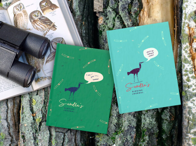 Personalized Birding Journal – I see you too-oooo