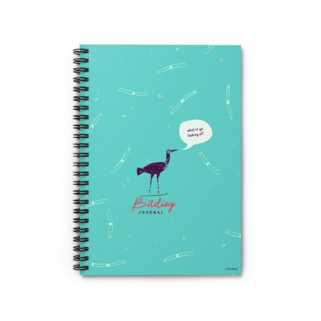 Personalized Birding Journal – what're ya looking at?