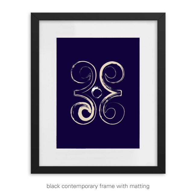 Inspirational Graphic Print – Courageous Heart