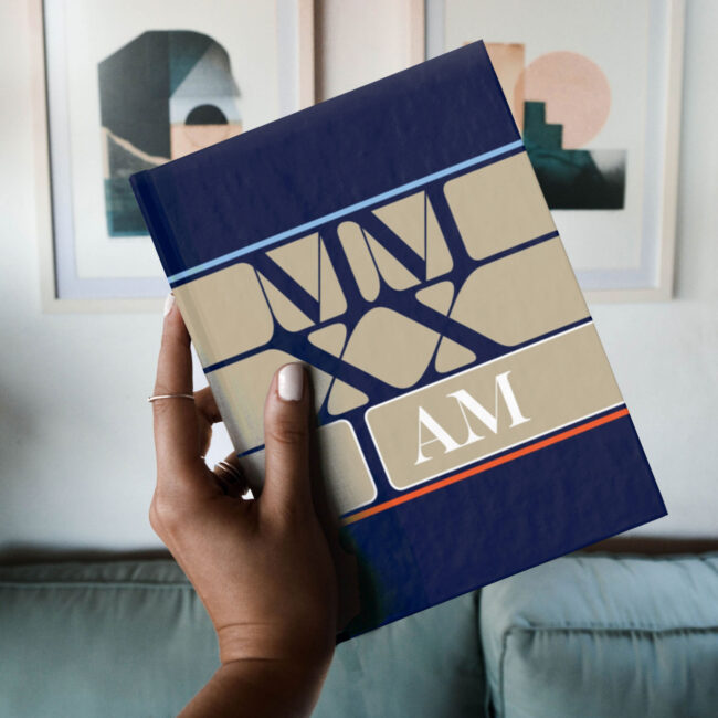 2021 (MMXXI): I Am – Blank or Lined Notebook