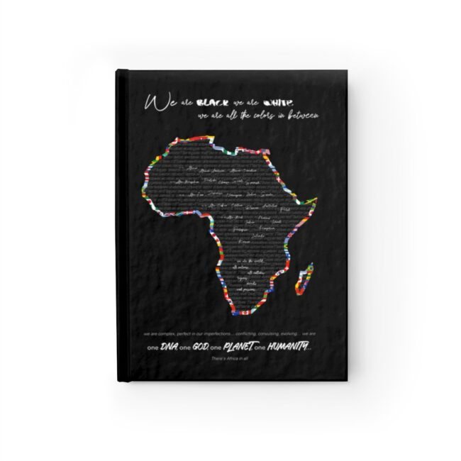Africa in All – Inspirational Notebook