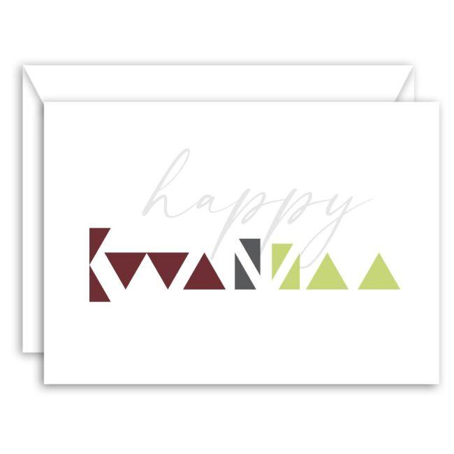 Modern Minimalist Kwanzaa Cards (set of 10)