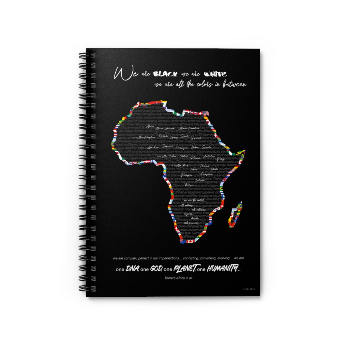 Africa in All – Inspirational Notebook (spiral bound)