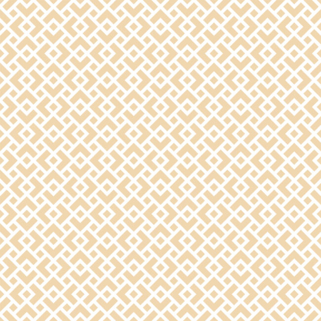 Cream & White Diamond Lattice Wallpaper