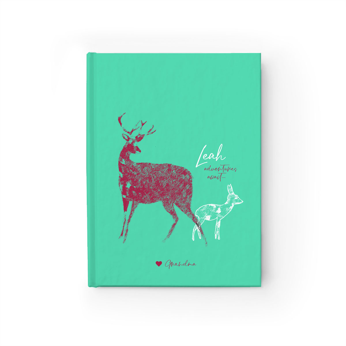 Personalized Notebook for Kids/Pre-Teens – Adventures Await (lined or blank)