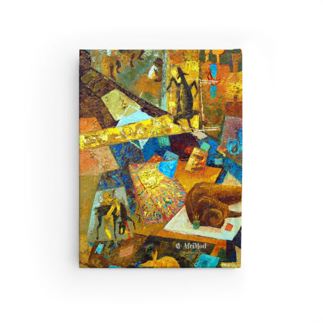 Abstract Art – Monogram Journal – lined or blank