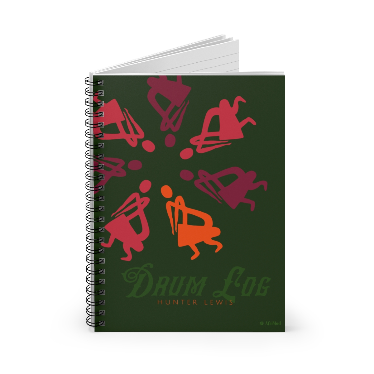 Customizable Drum Journal / notebook for drummers