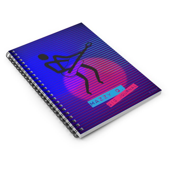 Personalized Music Gig Journal for Musicians or Bands (guitarist illustration)