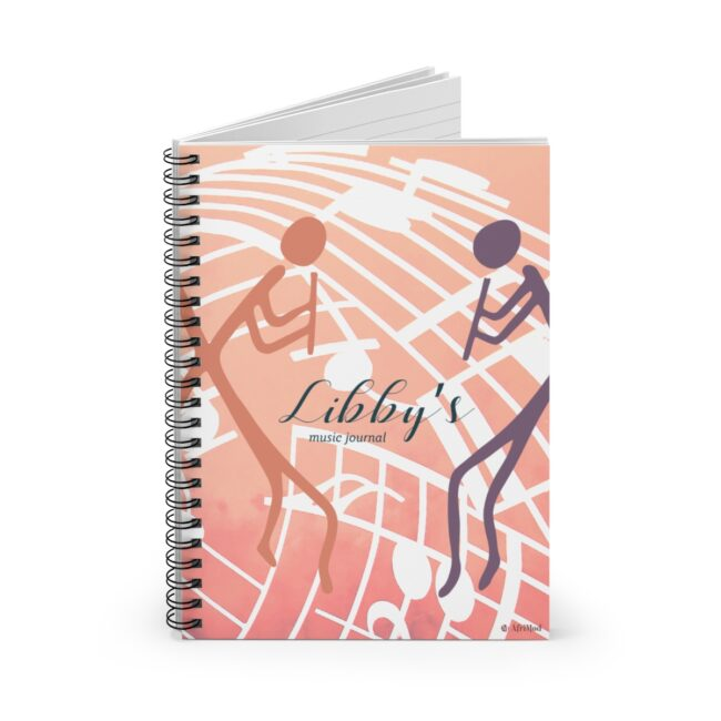 Personalize Music Journal (wind instruments)