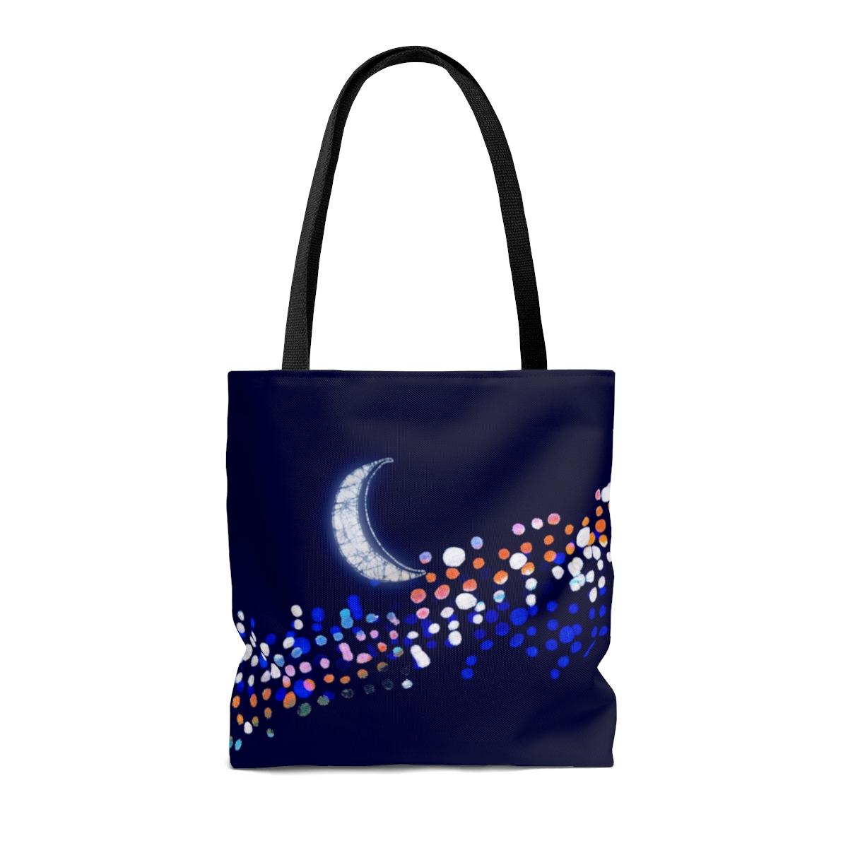 Moon & Milky Way  (Boho Chic Tote)