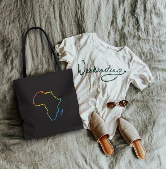 Pride Africa Tote Bag