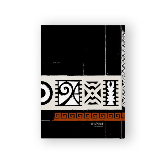 Personalized Bold Abstract Art Journal – lined or blank pages