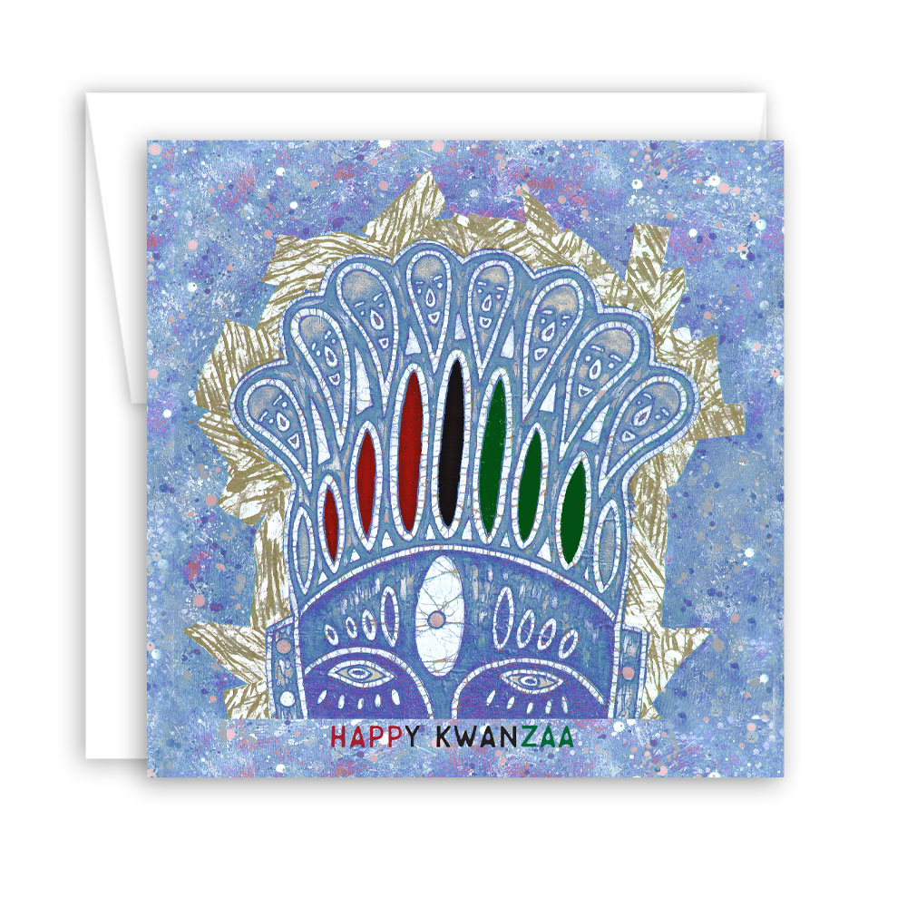 Kwanzaa Card Set: Crowned – set of 10 cards
